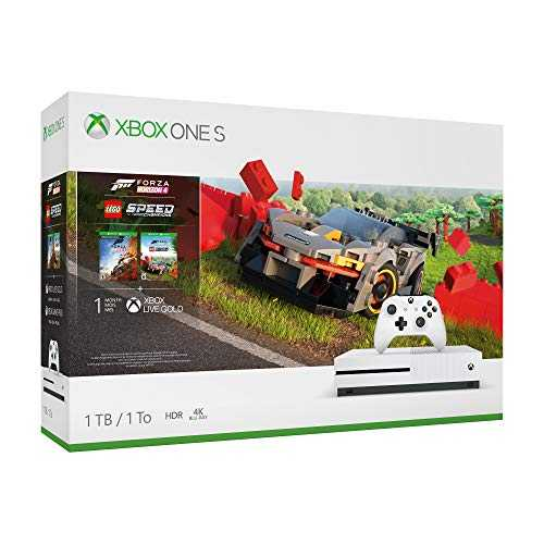 Pack Console Xbox One S 1 To   Forza Horizon 4   DLC Lego Speed champions   1 mois d'abonnement Xbox Live Gold