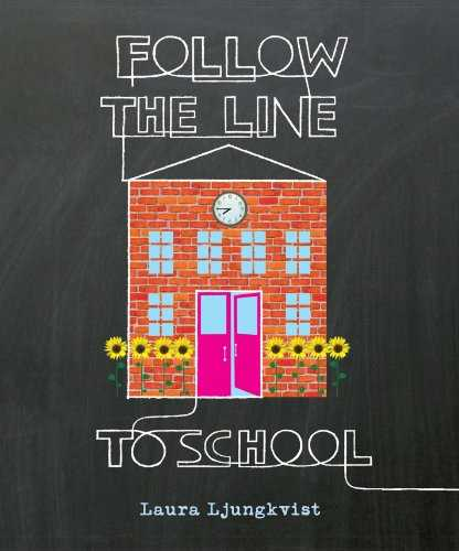Follow the Line to School (English Edition)