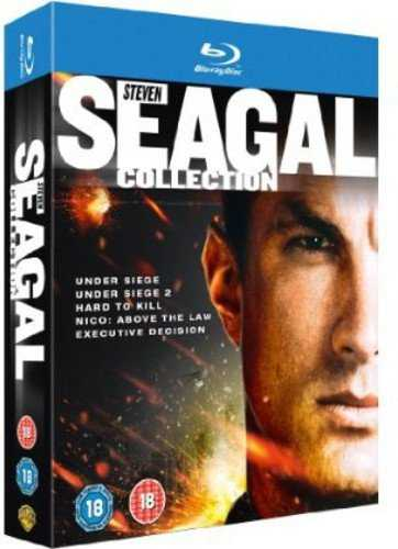 Steven Seagal Collection [Blu-Ray] [Import Italien]