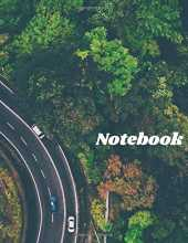 Notebook: Forest Cover, Lined, Large Composition Book, Journal