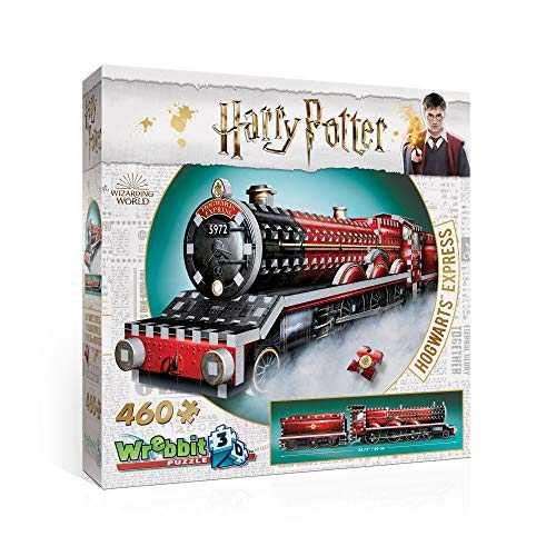 Wrebbit 3D Harry Potter Poudlard Express-3D-Puzzle, W3D-1009