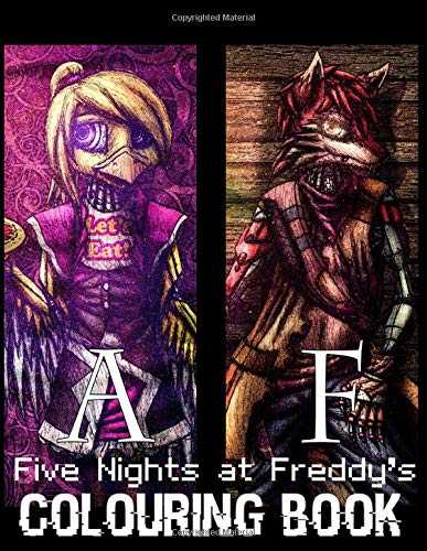 Five Nights At Freddy's Colouring Book: Great Colouring Books Gift for Kids Boy & Girls of All Ages