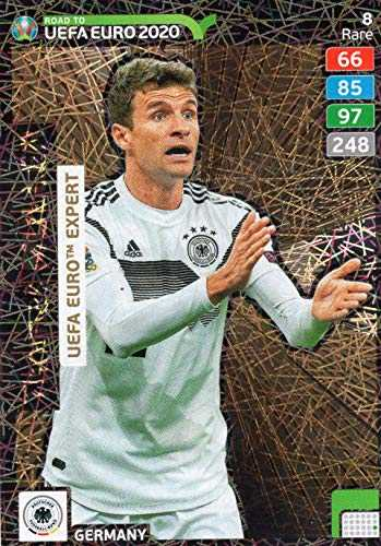Adrenalyn XL Road to Euro2020 – Thomas Muller UEFA Expert – Rare #8