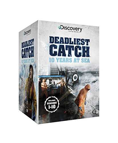 Deadliest Catch: 10 Years at Sea [DVD] [Import anglais]