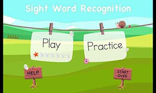 2017 Sight eWord Recognition