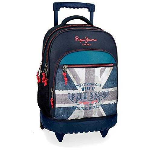 Pepe Jeans Ian Cartable 43 centimeters 28.9 Bleu (Azul)