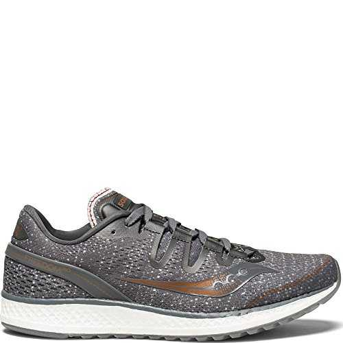 Saucony Freedom Iso, Chaussures de Fitness Femme, Multicolore-Gris (Gry/Den/Copa 30), 40 EU