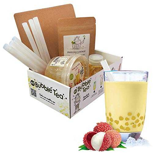 Kit Bubble Tea Perles de Fruits - Litchi