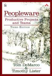 Peopleware: Productive Projects and Teams (English Edition)