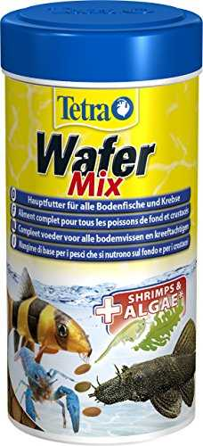Tetra 129160 TetraWafer Mix Multicolore, 119g/250 ml