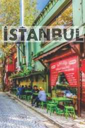 ISTANBUL: LUX GLOSSY COVER/ Istanbul diary/ notebook/ writing journals/ recording memories/120 WHITE JOURNAL PAGES.