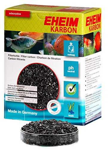 EHEIM Charbon de Filtration KARBON 1l + filet