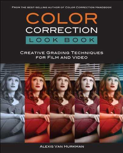 Color Correction Look Book: Creative Grading Techniques for Film and Video (Digital Video & Audio Editing Courses) (English Edition)
