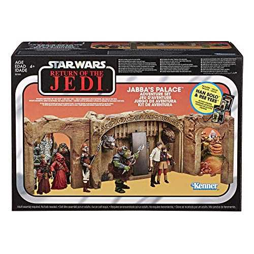 Star Wars – Edition Collector – Figurine Vintage Jabbas Palace - 10 cm