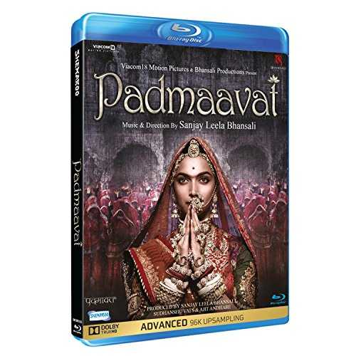 Padmavaat Hindi blu ray ( All Regions English Subtitles )