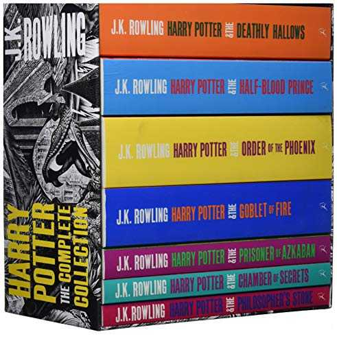 Harry Potter Set de 7 volumes Adult Edition