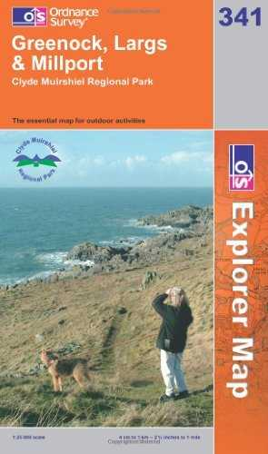 Greenock, Largs and Millport (Explorer) by Ordnance Survey (2006-11-13)