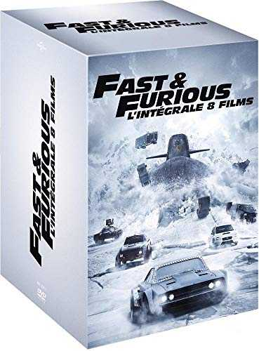 Fast and Furious - L'intégrale 8 films [DVD + Copie digitale]