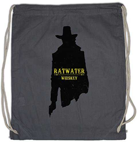 "Urban Backwoods RATWATER Whiskey ""J"" Sac à Cordon Gym de Sport Whisky Jesse Comic Preacher Cassidy Custer Texas TV Series TV Garth Cassidy"