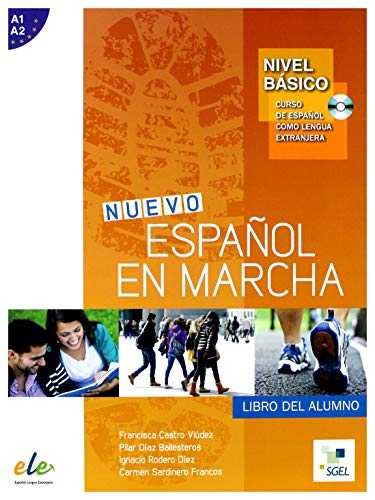 Nuevo Espanol en Marcha Basico : Student Book + CD: Levels A1 and A2 in One Volume
