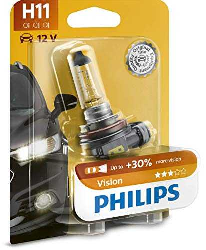Philips automotive lighting 12362PRB1 Philips phares de Vision H11 12V 55W