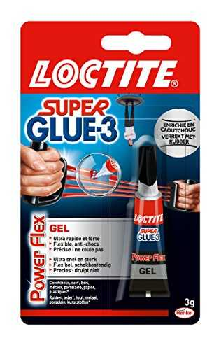 Loctite Colle forte/Super Glue 3 - Power Flex 3 g