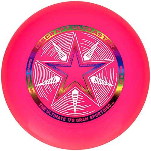 Discraft Ultrastar Sport de Disque Unisex-Youth, Rose, 27,5 cm