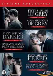 Cinquante Nuances-Fifty Shades : Coffret 3 Films [DVD]