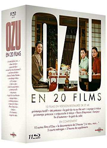 Coffret OZU en 20 Films – 11 BD [Blu-ray]
