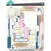American Crafts Papier Heidi Swapp Mixed Media Album Scrapbooking Kit de 9 x 11.5-inch, Papier cartonné mémoire fichiers