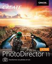 CyberLink PhotoDirector 11 Ultra / WIN | PC | Code d´activation PC - envoi par email
