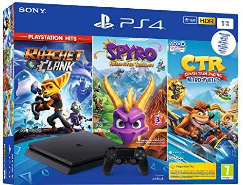 PS4 1 To Crash Team Racing   Spyro   RC Hits - noire