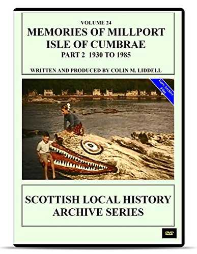 "DVD Memories of Millport Isle of Cumbrae Part 2 1930-1985 (See Also 2 Disk Special Edition ""Memories of Millport Collection 1920-1985"" Save £3.99) Scottish Glasgow Clyde maritime"