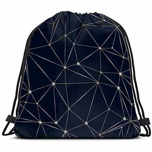 khgkhgfkgfk Triangle Structure Technology Science Drawstring Backpack Gym Sack Lightweight Bag Water Resistant Gym Backpack for Women&Men for Sports,Travelling,Hiking,Camping,Shopping Yoga
