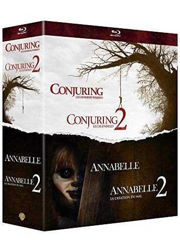 Warren - Collection de 4 films - Annabelle et Conjuring - Coffret Blu-Ray