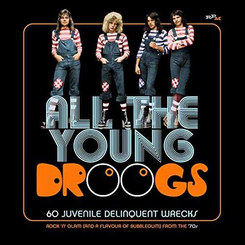 60 Juvenile Delinquent Wrecks-Rock N Glam and a Flavour of Bubblegum from The 70 S/Clamshell Box Set