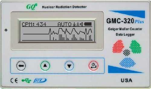 GQ GMC-320 Plus Geiger Counter Nuclear Radiation Detector Meter Beta Gamma X ray Europe