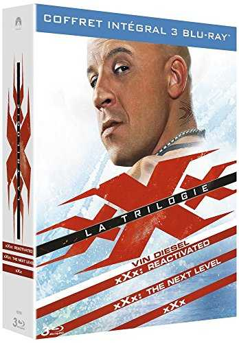 xXx, la trilogie : xXx   xXx 2 : The Next Level   xXx : Reactivated [Blu-ray]