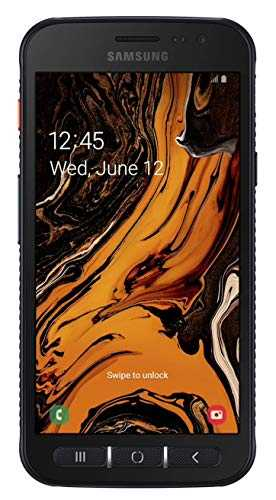 "Samsung Galaxy X Cover 4s Enterprise Edition 32Go / GB Dual-Sim Noir [12,67cm (5,0"") HD-LCD Display, Android 9, 16+5MP Kamera]"