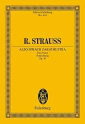 Thus Spake Zarathustra Op. 30