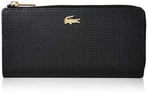 Lacoste Chantaco Slim Zip Wallet Noir