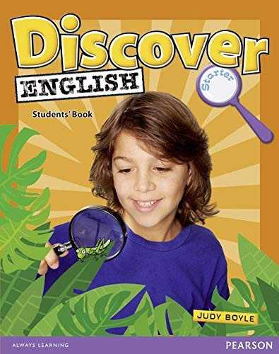 [(Discover English Global Starter Student's Book)] [Author: Judy Boyle] published on (December, 2009)