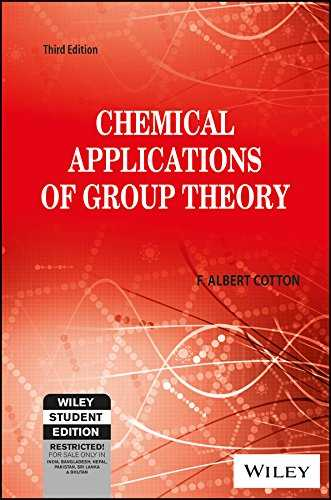 CHEMICAL APPLICATIONS OF GROUP THEORY 3ED
