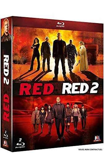 Red   Red 2 - Coffret Blu-Ray