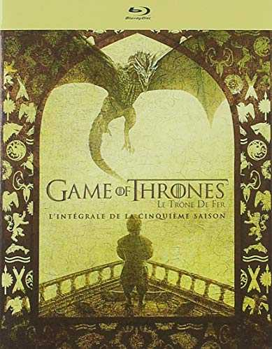 Game of Thrones (Le Trône de Fer) - Saison 5 HBO 4 Disques