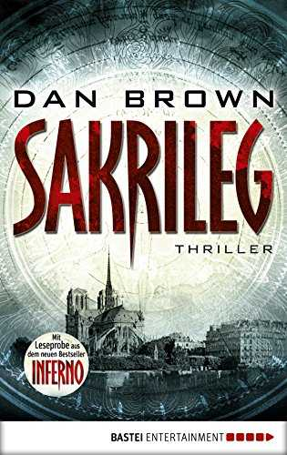 "Sakrileg - The Da Vinci Code: Inkl. Leseprobe aus ""Inferno (Robert Langdon 2) (German Edition)"
