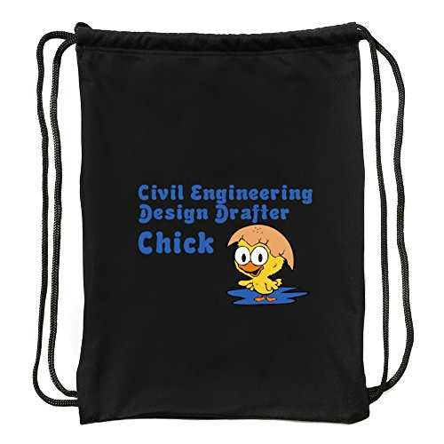 Eddany Civil Engineering Design Drafter Chick Sac à Cordon