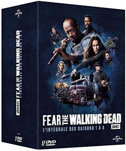 Fear The Walking Dead-L'intégrale des Saisons 1 à 4