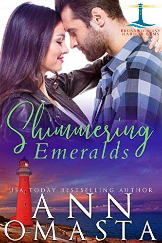 Shimmering Emeralds: A suspenseful opposites attract small town romance (Brunswick Bay Harbor Gems Book 3) (English Edition)