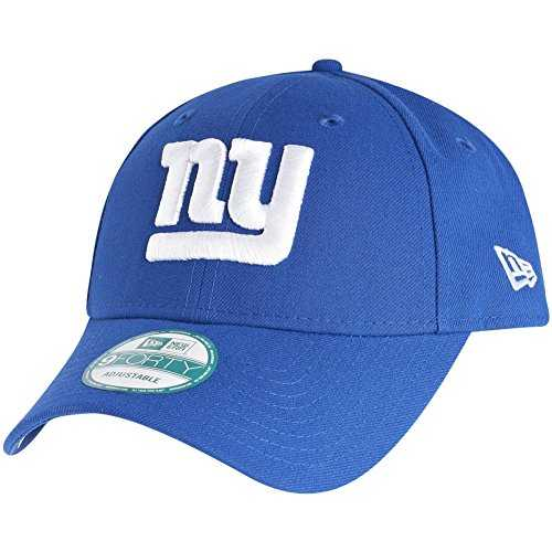 New Era 9Forty Strapback casquette NFL The Ligue 2017 Seahawks Raiders PATRIOTES Raiders Panthers BRONCOS etc. - New York Giants #2714, OSFM (One Size fits most)